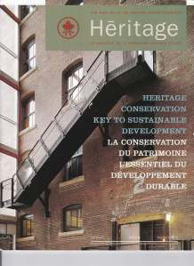 Cover Heritage Spring 2006